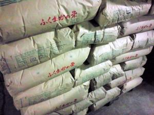 アイガモ農法のお米
