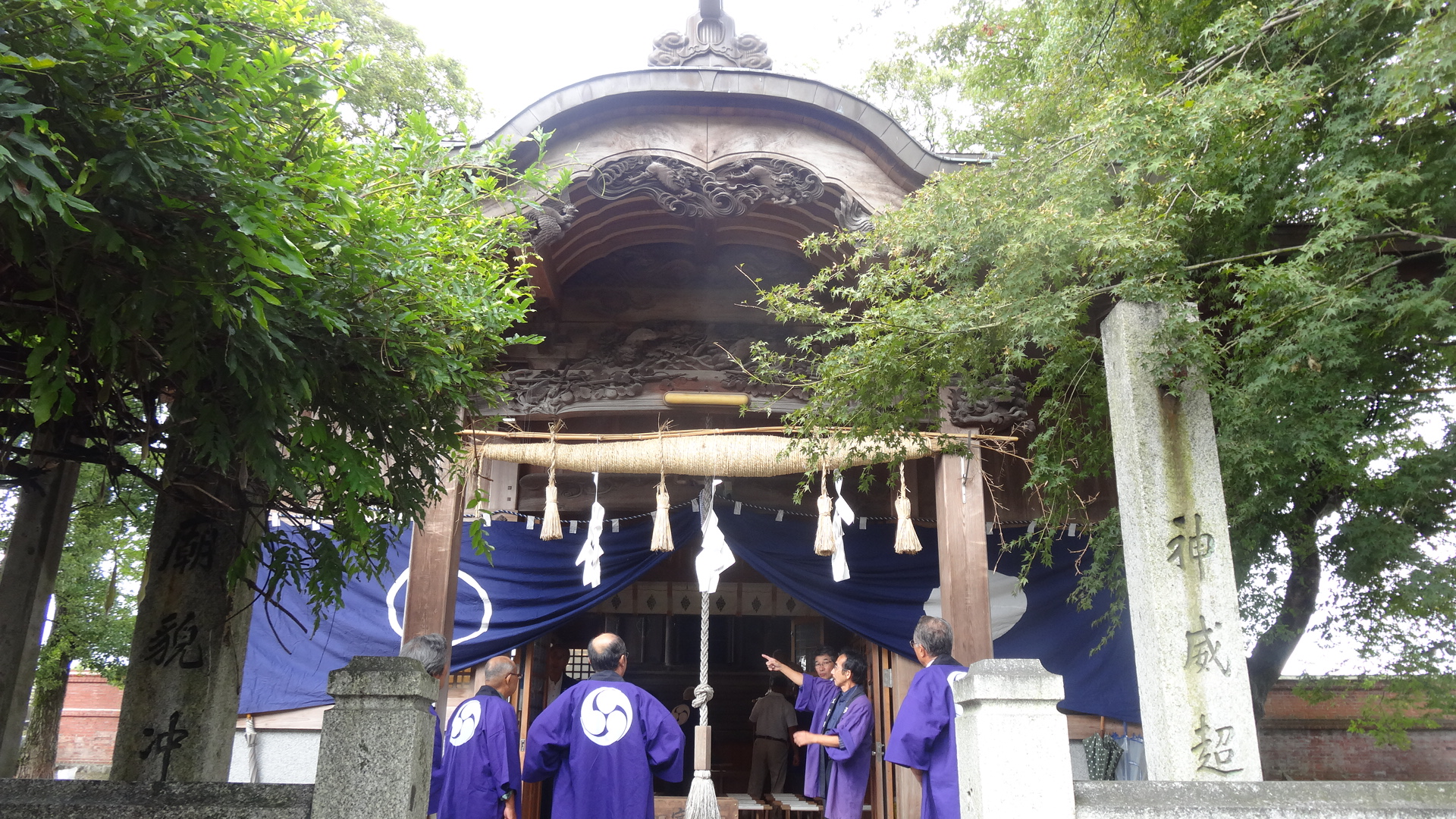 天道神社・秋の例祭